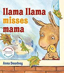 book cover: llama llama misses mama