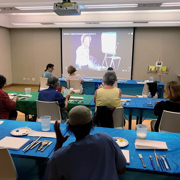 photo of adult video presentation