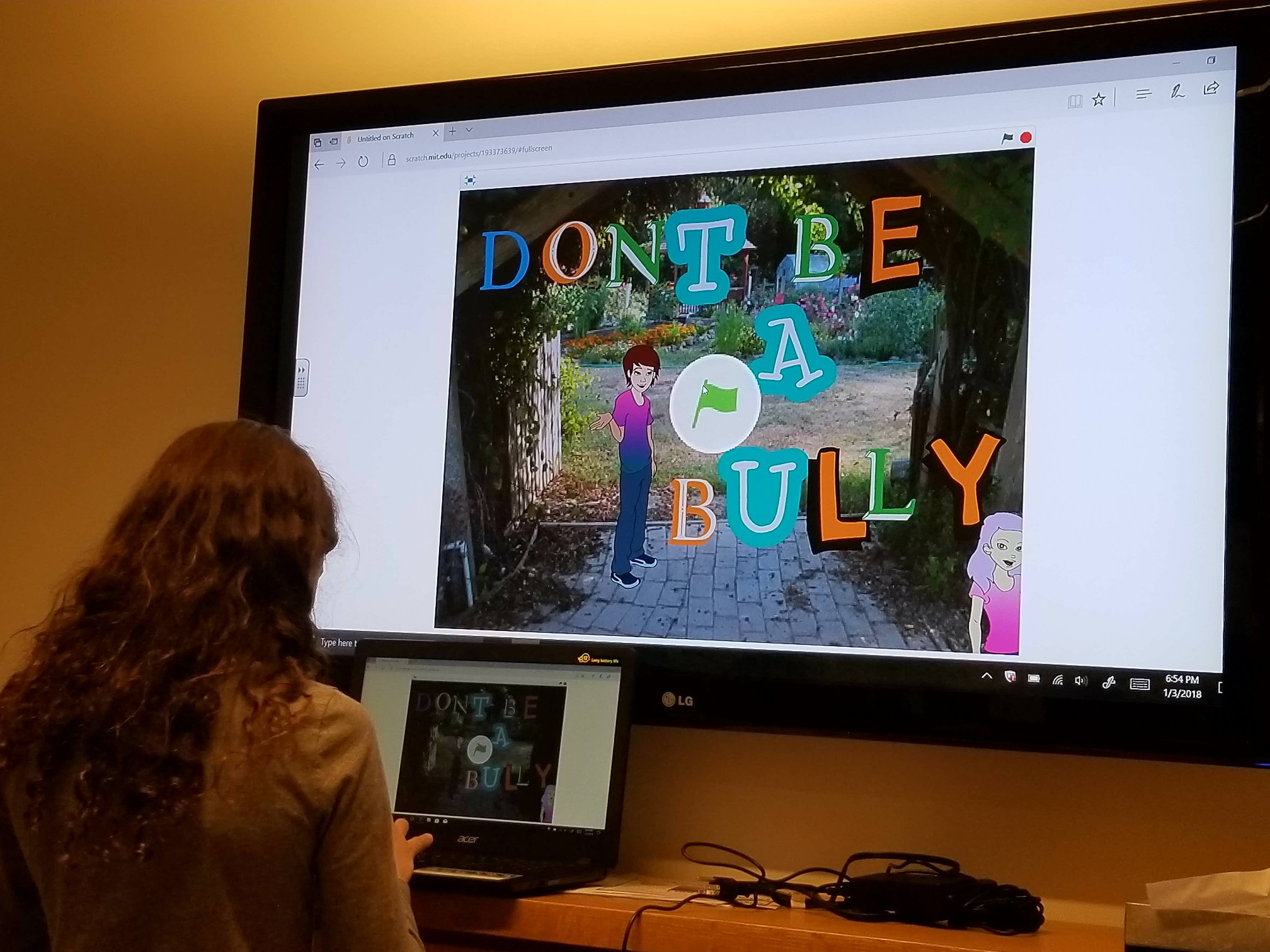 photo of Don't Be a Bully presentation