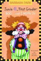 book: junie b: first grader and I mean it