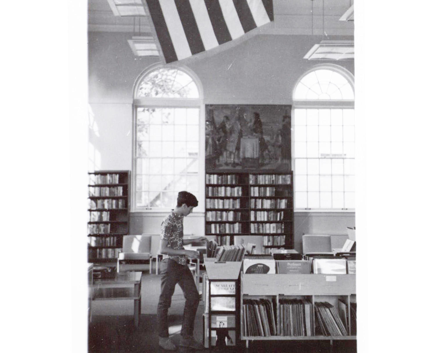 historic photo of Mamaroneck Library