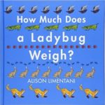 children's book: how much does a ladybug weigh?