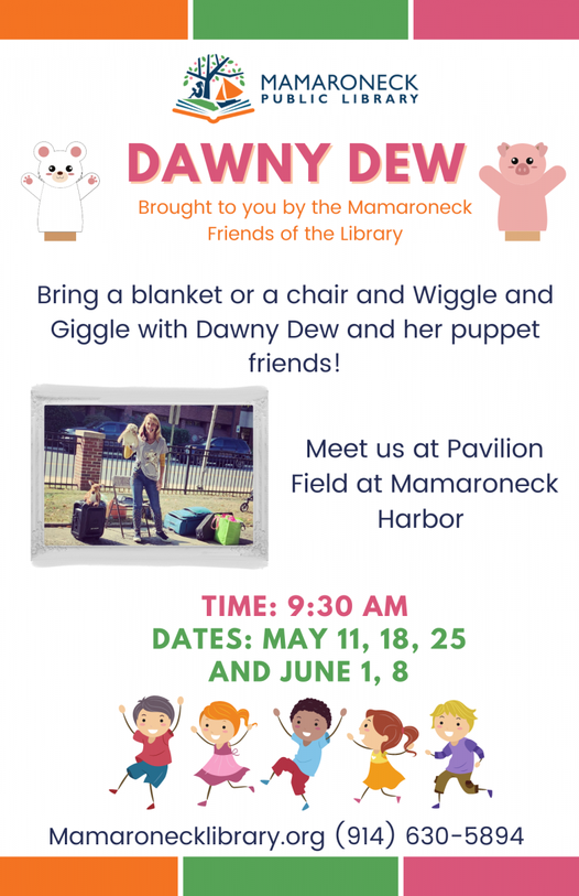 Dawney Dew children's puppet show