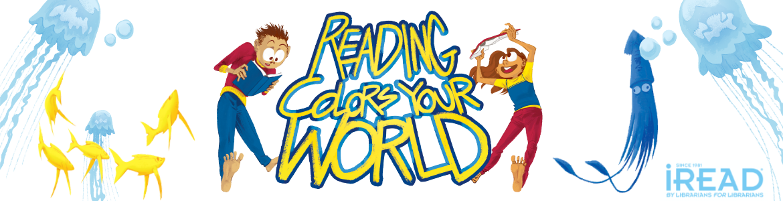 Reading colors your world - summer reading program logo