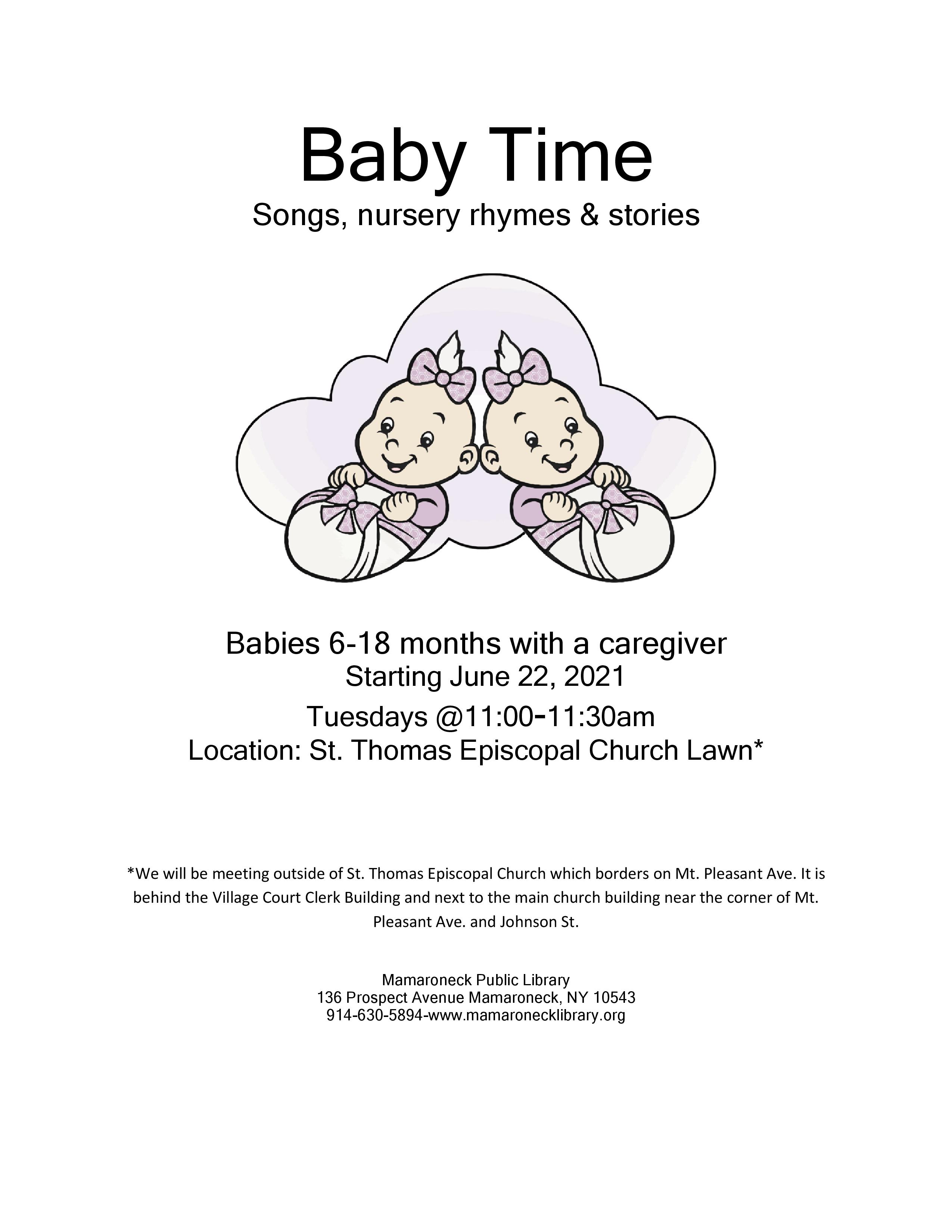 Babytime at St Thomas church no registration