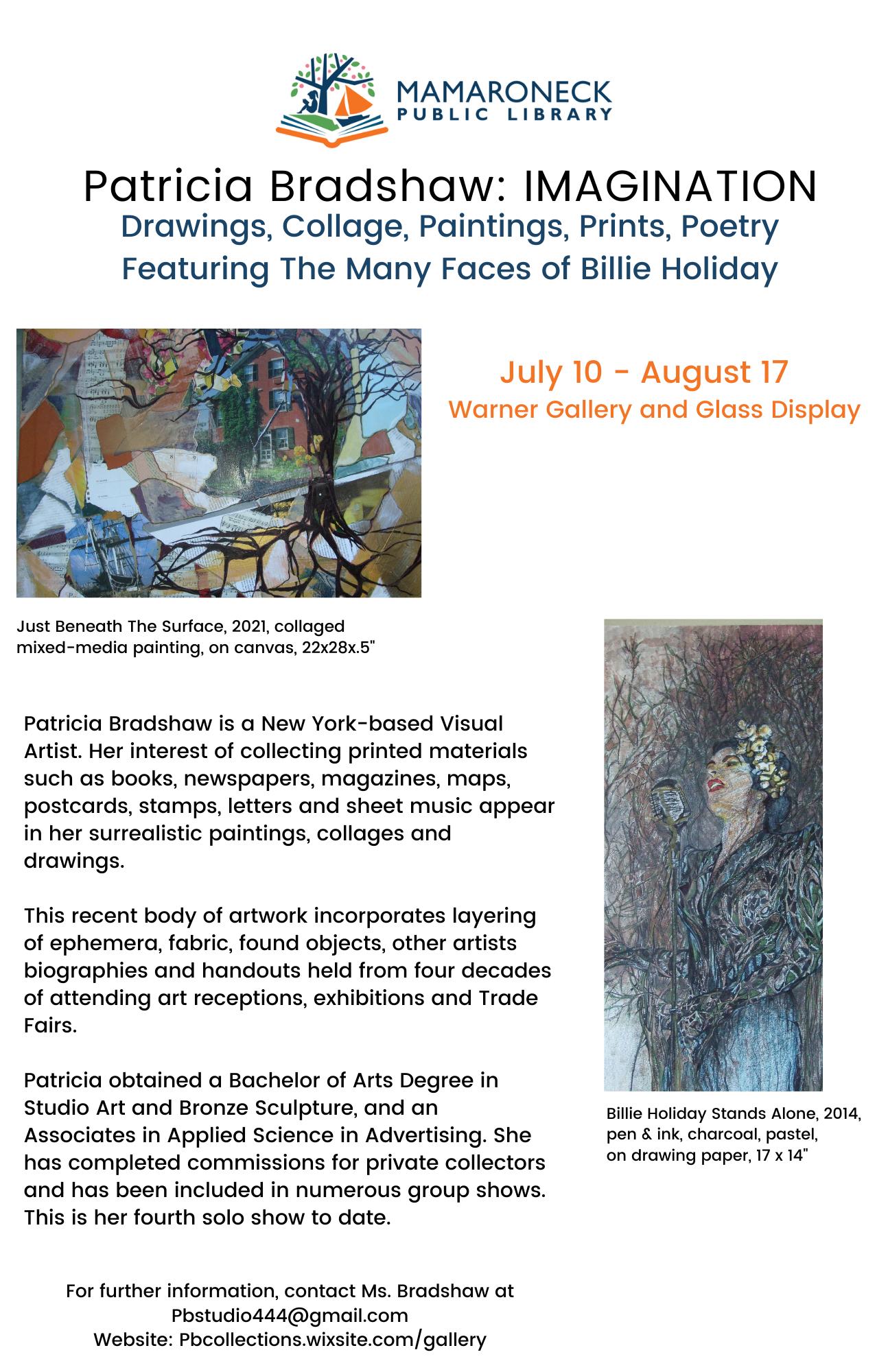 Imagination - new artist display in Warner Gallery & Glass Display Case