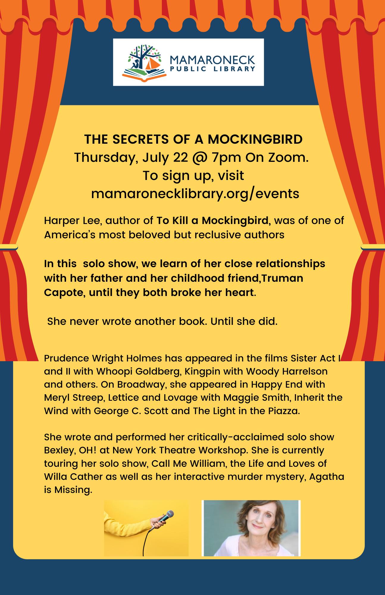 Secrets of a Mockingbird flyer