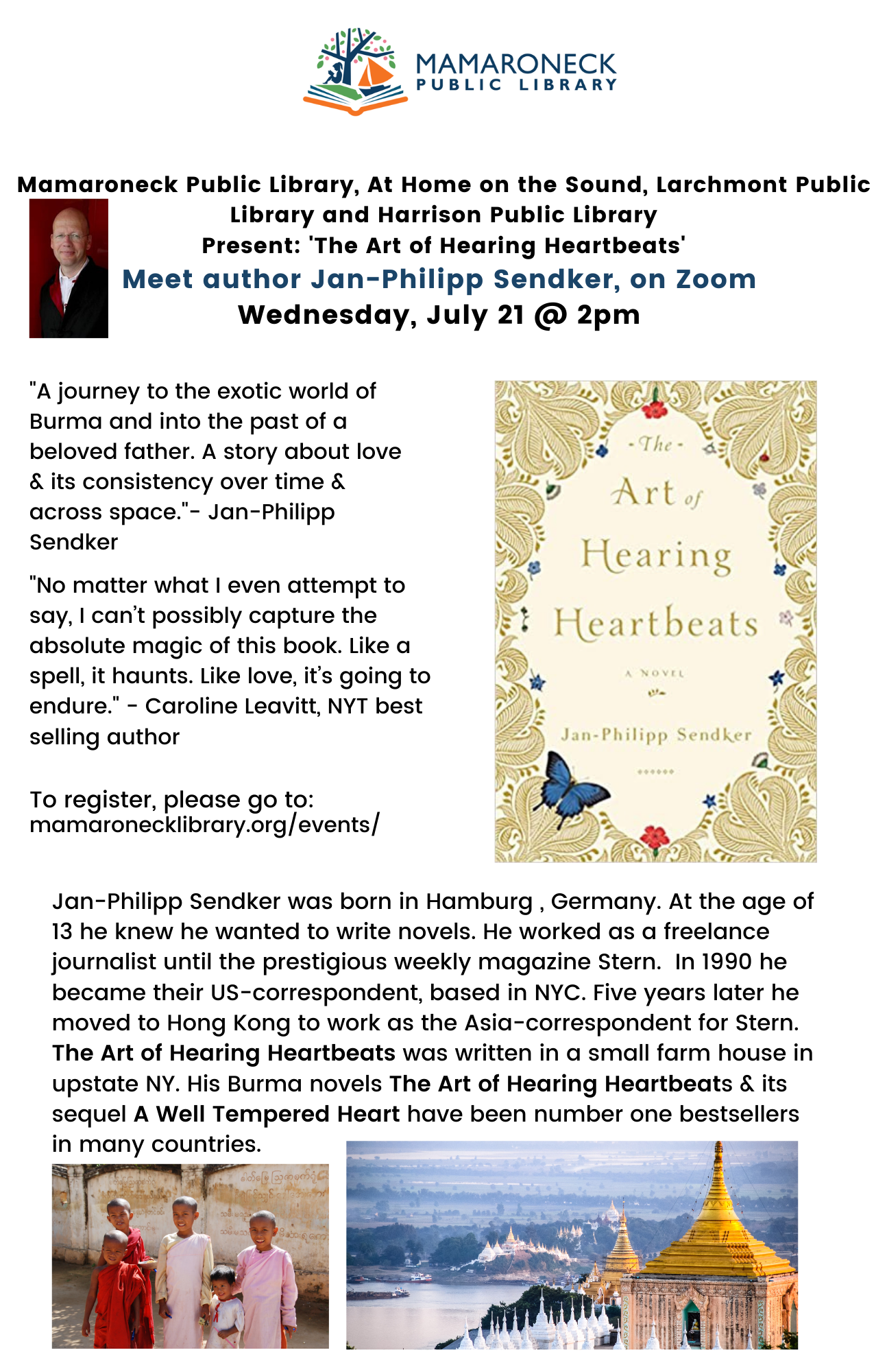Author Talk: Art of Hearing Heartbeats