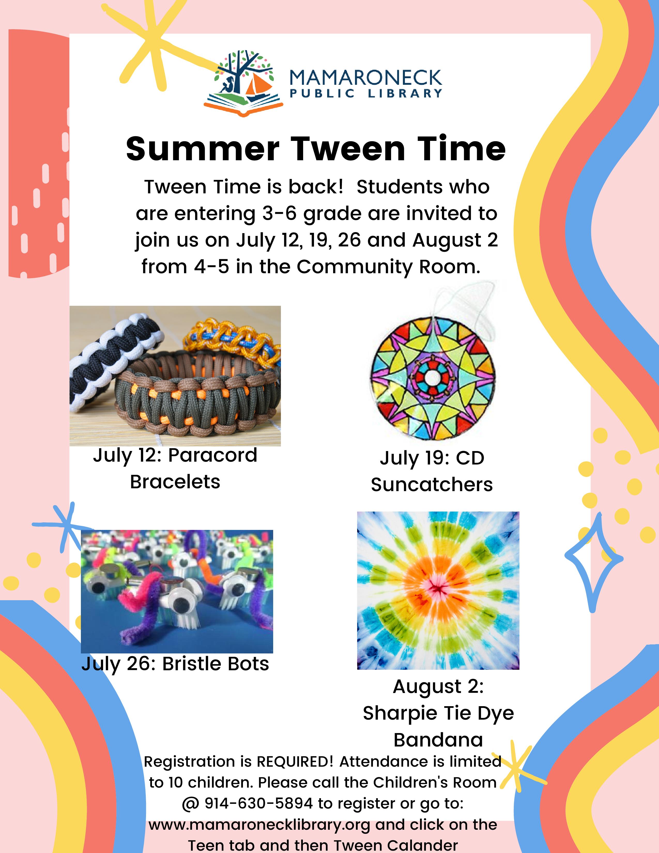 Summer Tween Programs