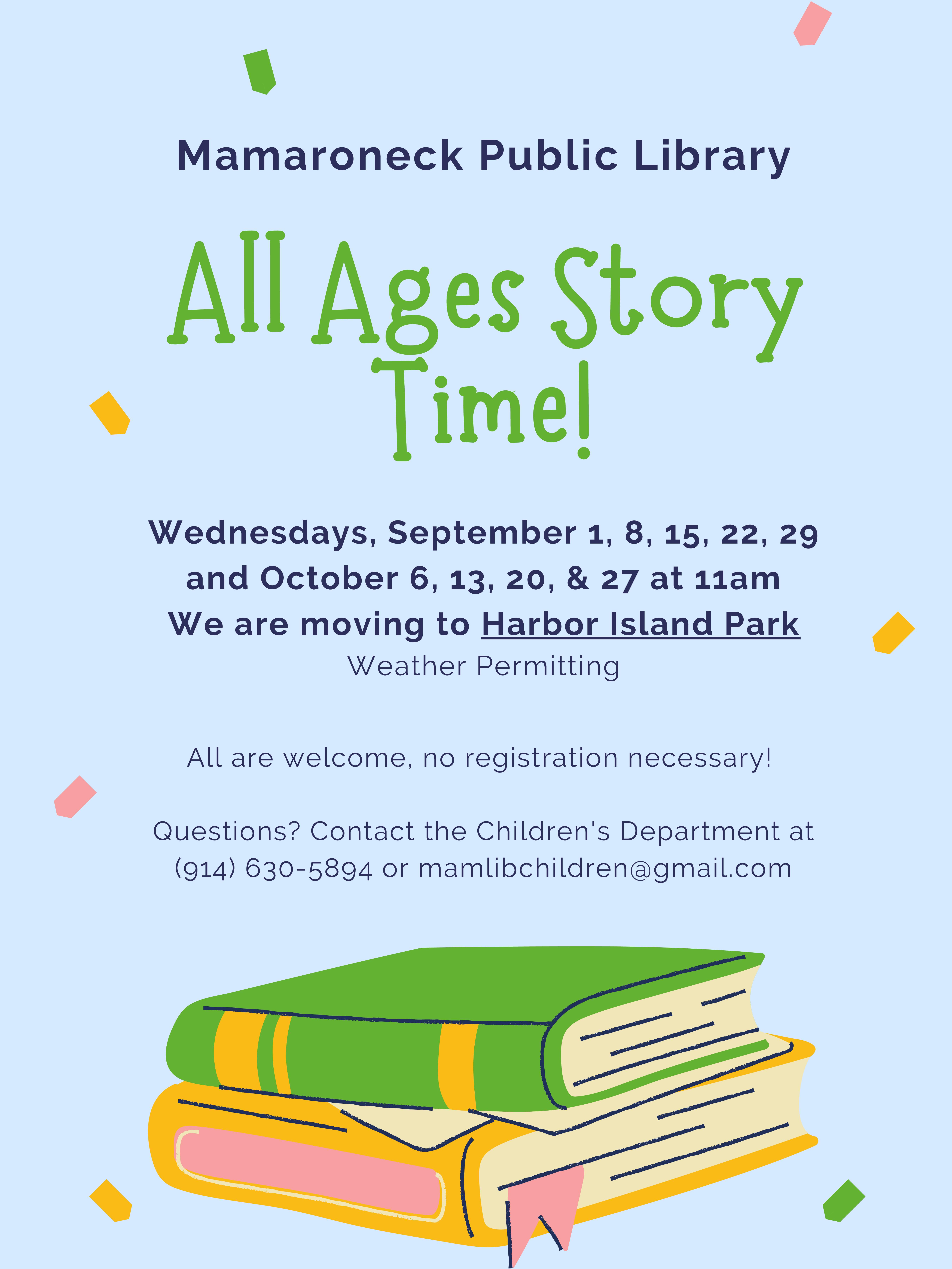 All Ages Storytime for Children