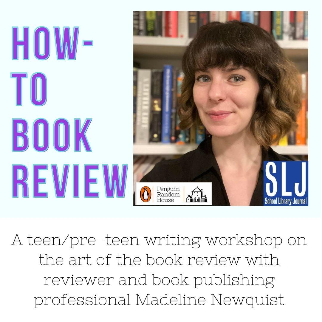 Teen/Tween program on how to book review