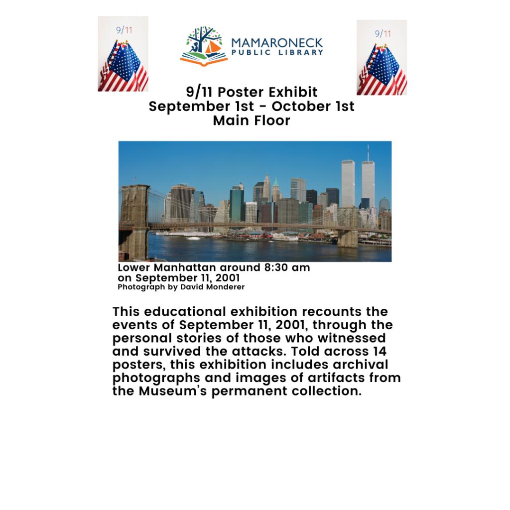 9/11 20th Anniversary Poster Exhibit