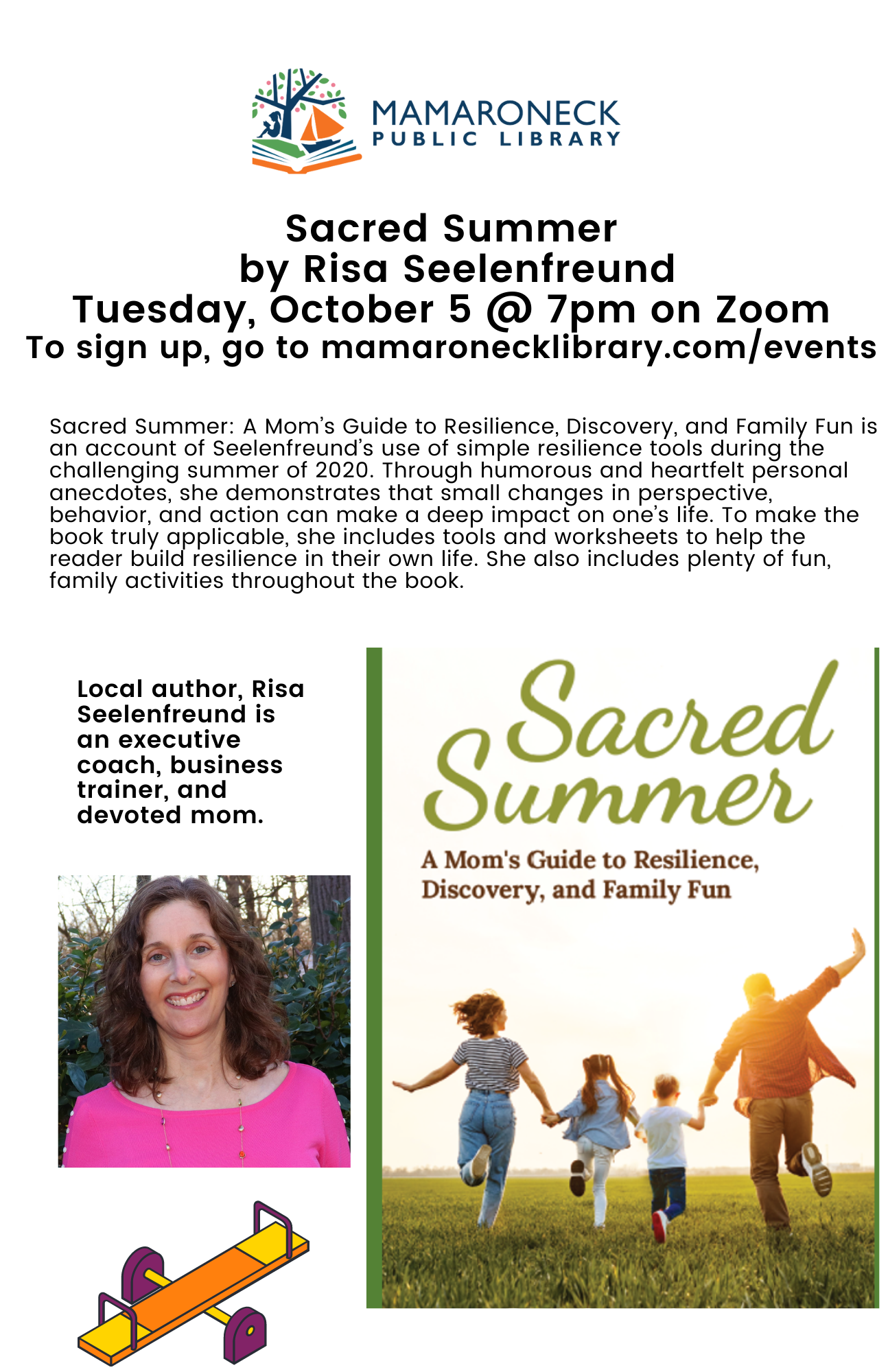 Sacred Summer Book Talk by author