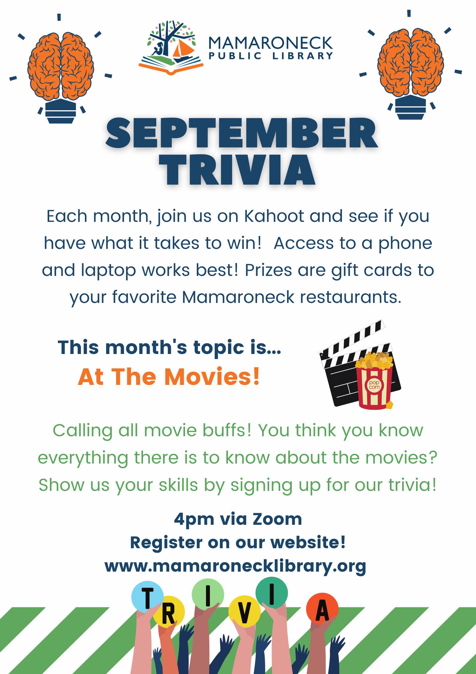 september trivia for teens