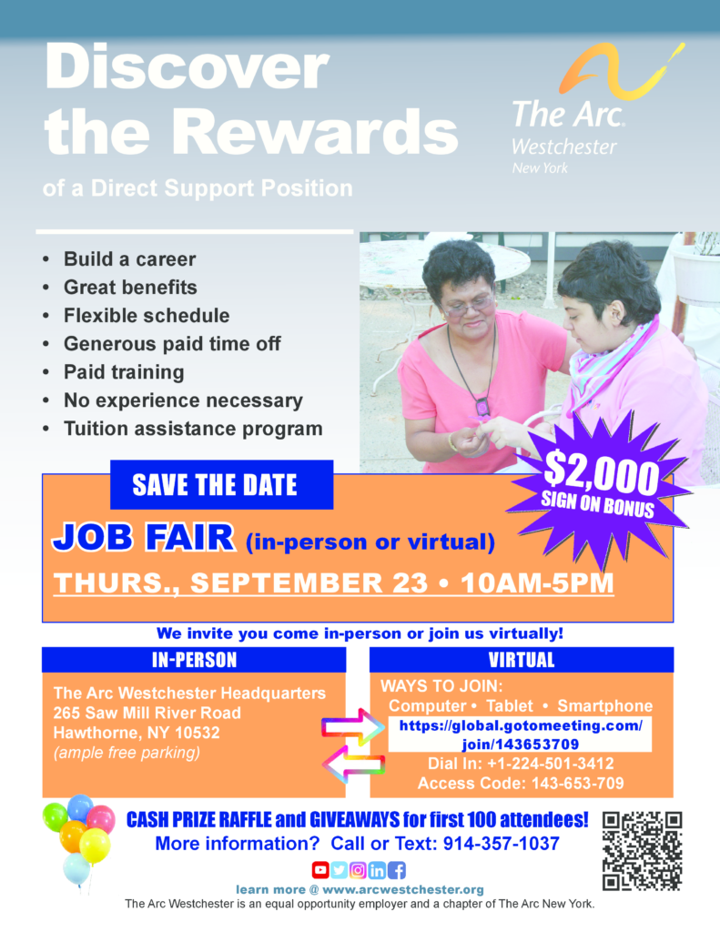 statewide job fair sept. 23 - in person or virtual