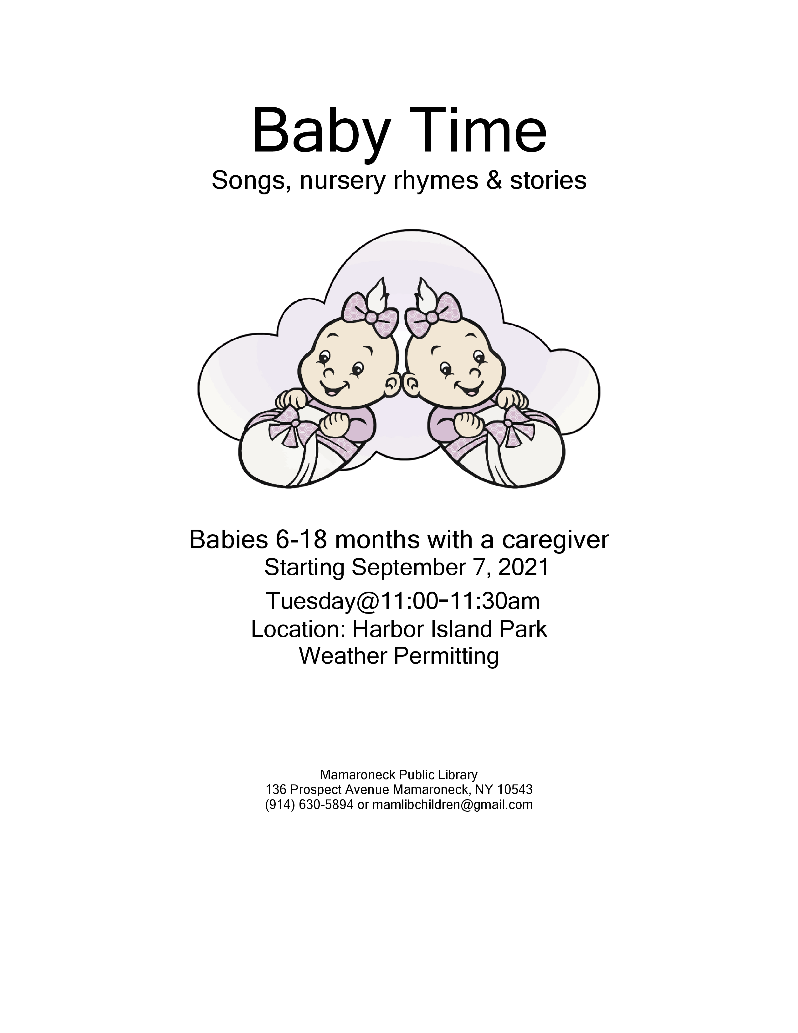 Baby Time for children