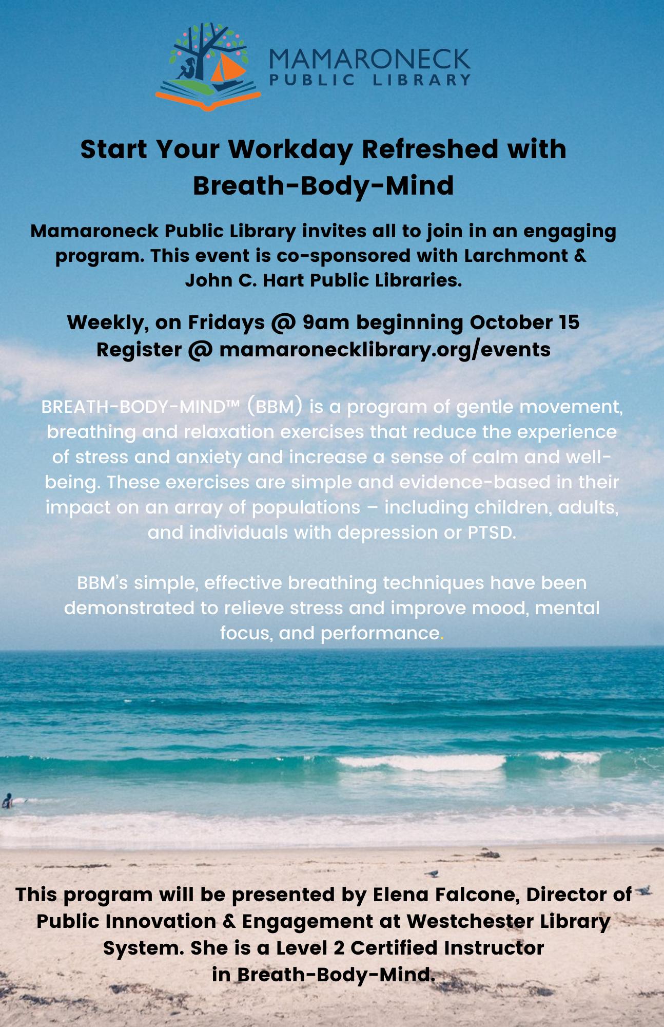 Breath Body Mind weekly class