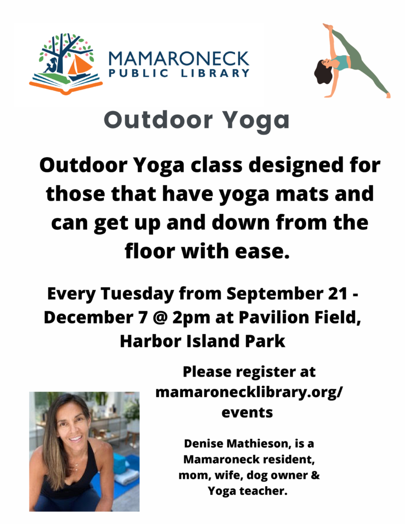 Outdoor yoga at Harbor Island Park - Fall schedule