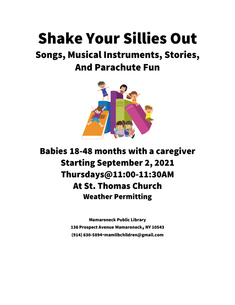 Shake Your Sillies Out at St Thomas Church