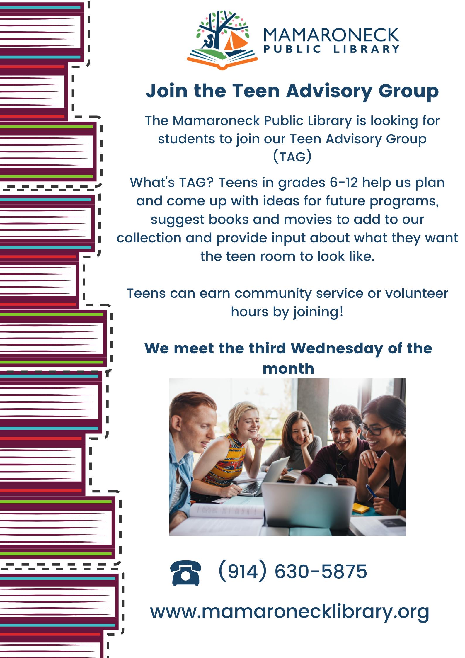 Teen advisory group october meeting