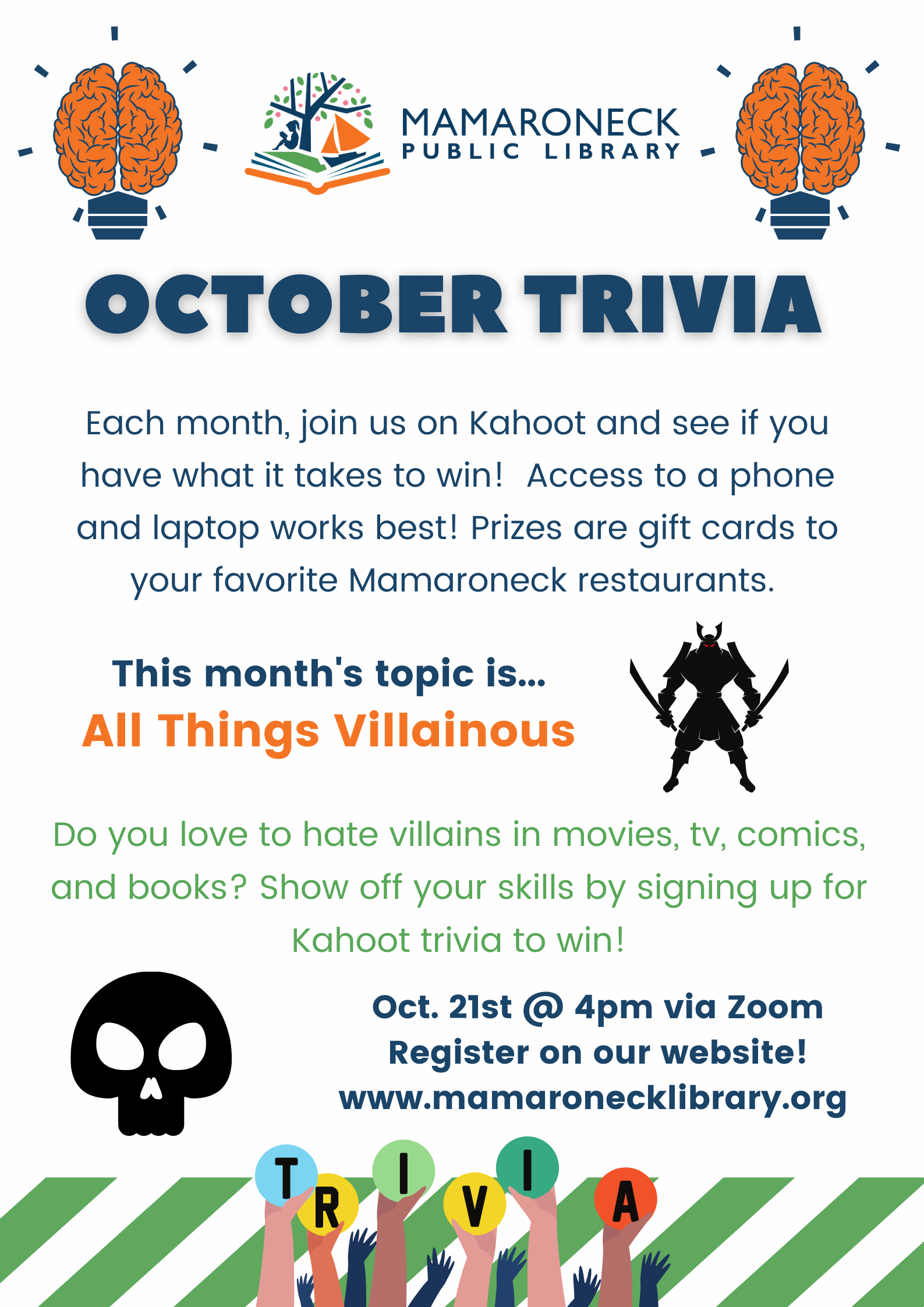 Teen October Trivia contest