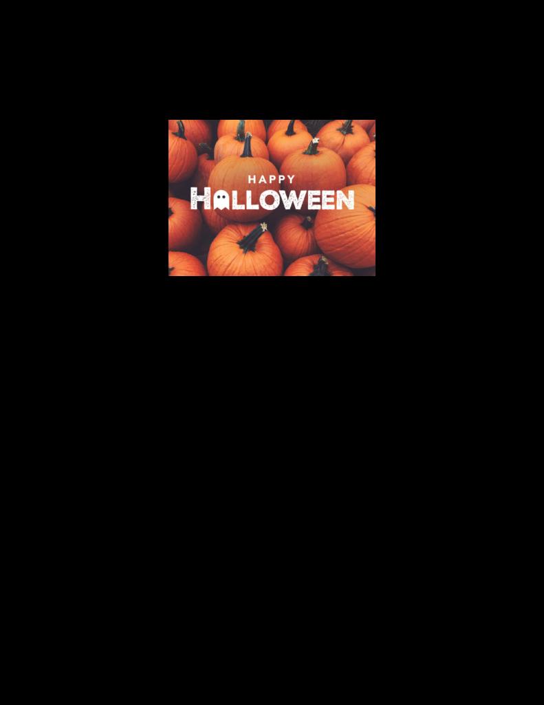 Halloween flyer Oct. 26 children's program